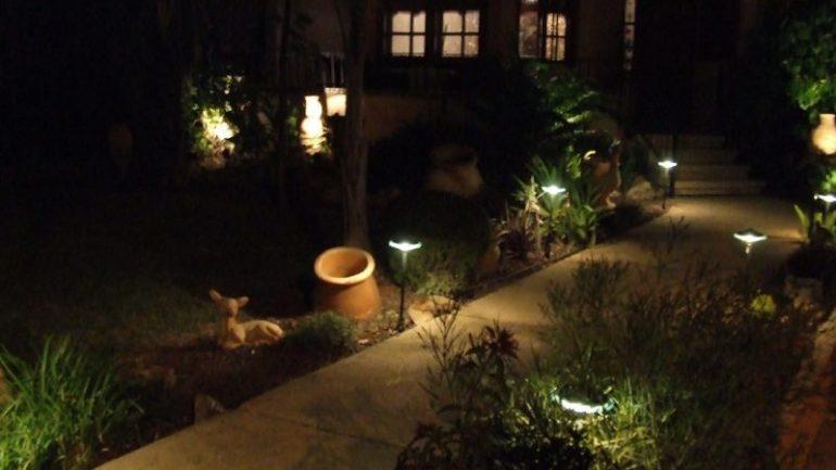 תאורת גן – לגינה יפהפיה גם בלילה